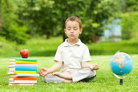 giovane allievo zen